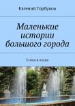 Книга Маленькие истории большого города автора Евгений Горбунов