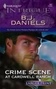 Книга Преступление на ранчо Кардуэлл автора Би Дэниэлс