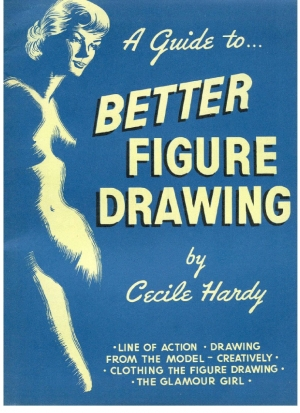 обложка книги  A Guide to Better Figure Drawing - Cecile Hardy