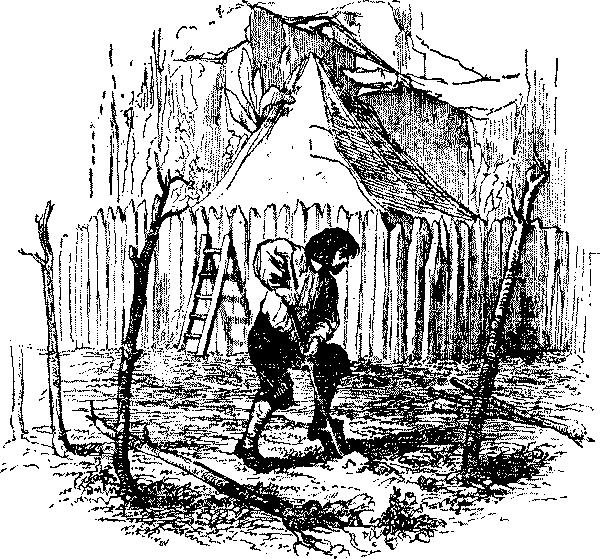 робинзон и пятница картинки из книги