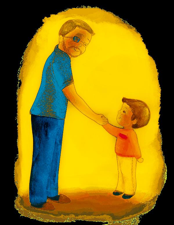 Картинка папы и мальчика