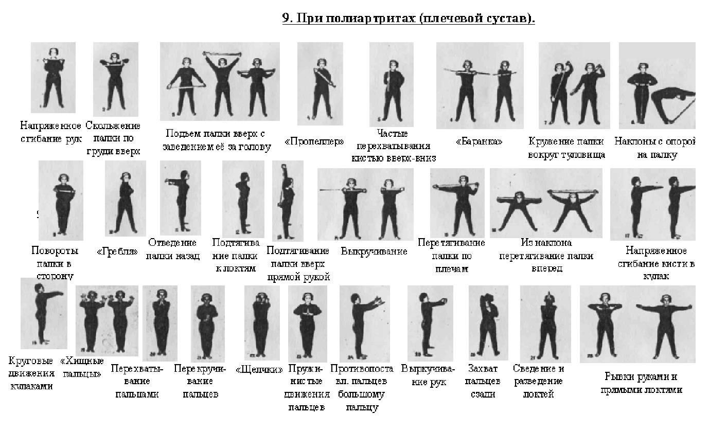 эти упражнения амосова в картинках большинстве